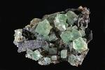 Fluorit - Kianghualing, Hunan China 9x6cm