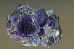 Fluorit - Unterlaussa,St.Gallen 4x3cm