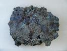 präh. Kupfer Laufschlackenfladen - mittlere Bronzezeit  22 x 20 x 4cm
